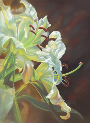 Easter Lilies (large view)