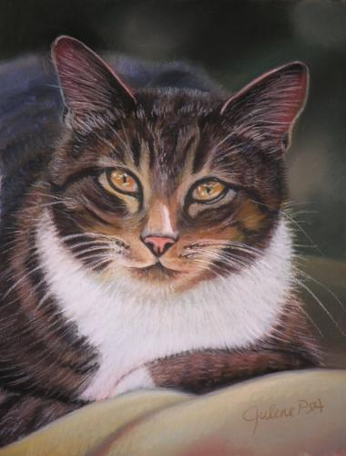 Painting--Pastels-AnimalsCasey