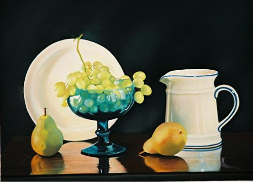 Still Life with White Plate (large view)