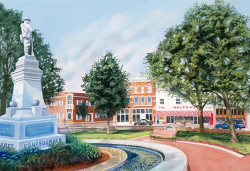 Bentonville Square (large view)