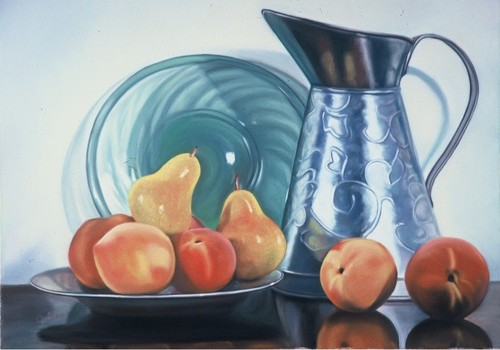 Still Life with Peaches and Pears (large view)