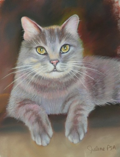 Painting--Pastels-AnimalsGrady