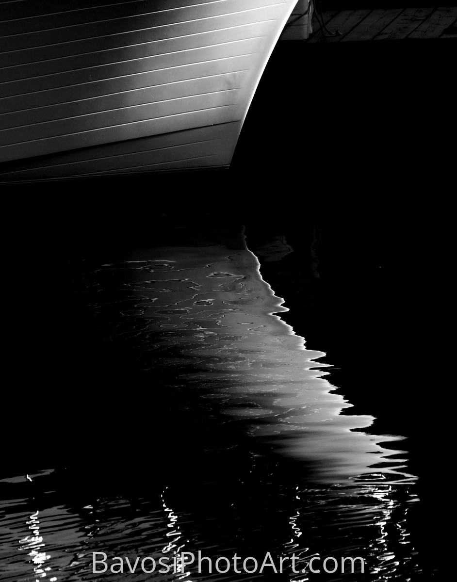 Boat Bow  At Night (large view)