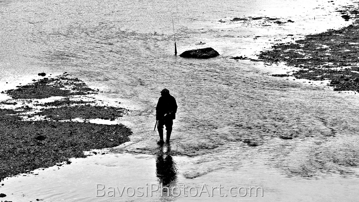 Maine Shell Fisherman (large view)