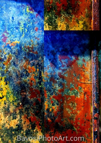 Rusted Panel by BavosiPhotoArt