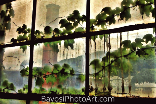 Factory Window by BavosiPhotoArt