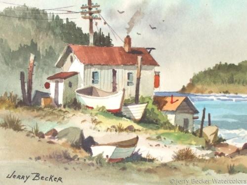 sea shacks