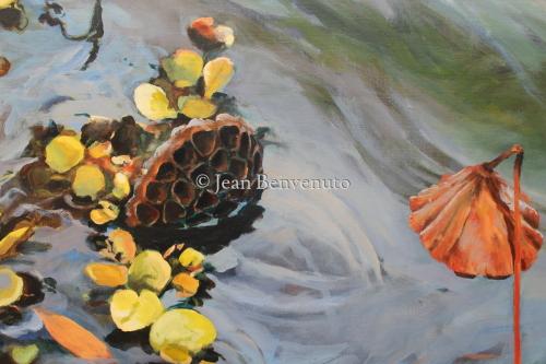 Lotus Pods by Jean Benvenuto