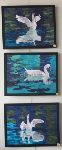 Framed Swan Series (large view)