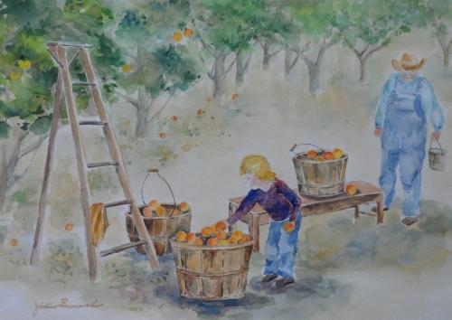 The Peach Picker by Jodine Broscovak
