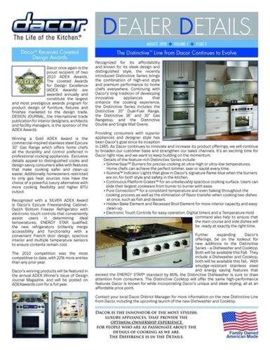 newsletter front