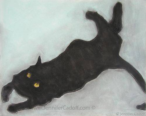 Black Cat  #5 (SOLD) (large view)