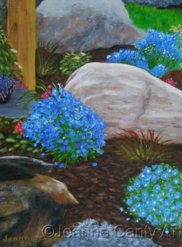 Rock Garden by Jeanne Canty