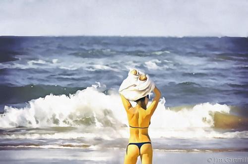 Strip Down for the Beach