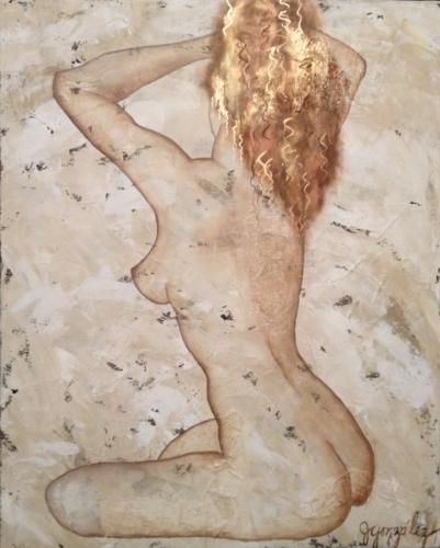 Amara...eternally beautiful Nude Series Original Painting
