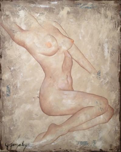 Textured Nude Series No. 4