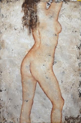 Helen Nude Series Original Painting
