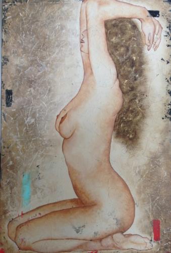 Alexa Nude Series Original Painting