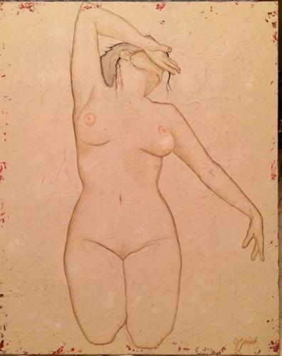Surrender Nude Series Original Painting