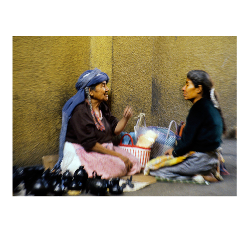 Women selling Pottery