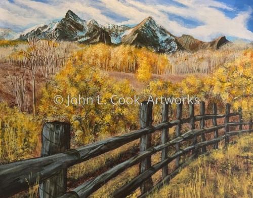 Southwest Colorado range view