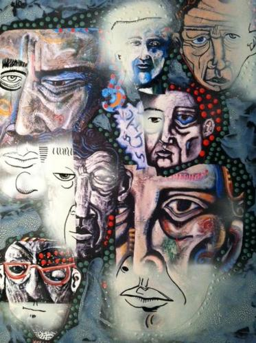 """More Faces in the Crowd"" by Joseph Coventry"