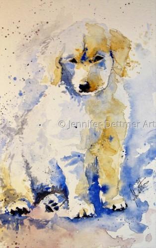 Leo by Jennifer Dettmer Art