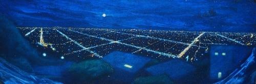 """Sunset and La Cienega""   (large view)"