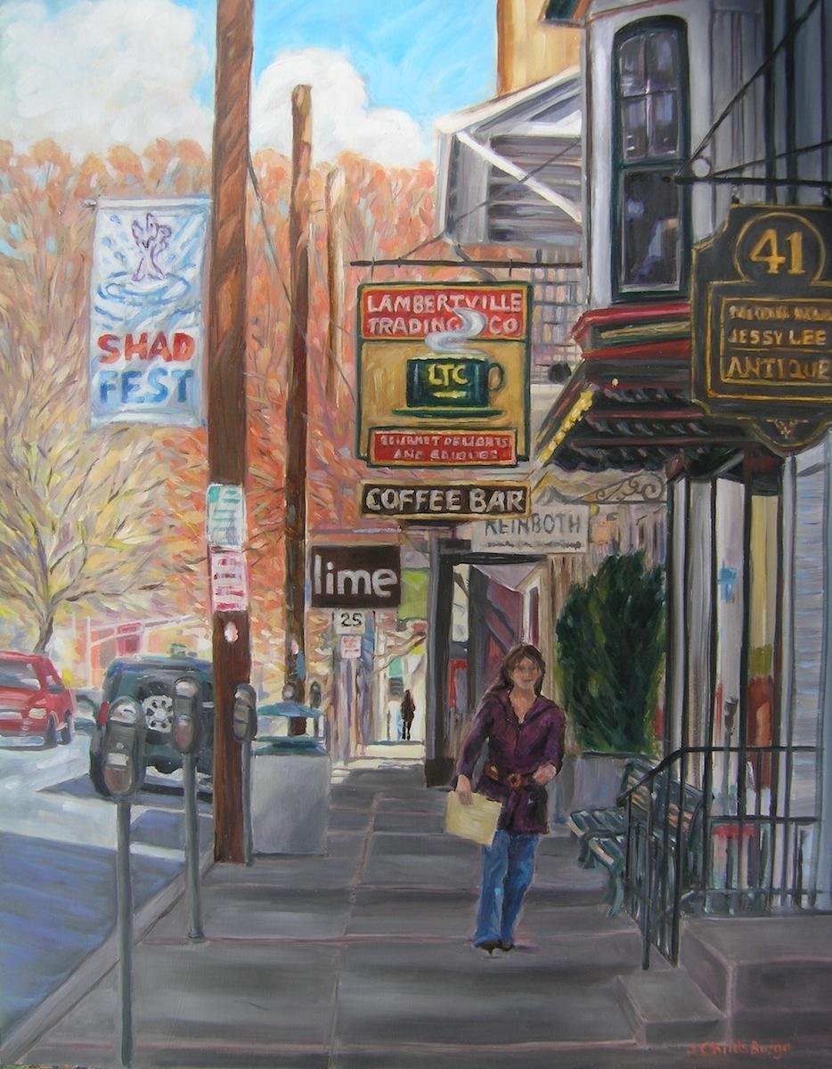Bridge Street, Lambertville, NJ #2 in Series (large view)