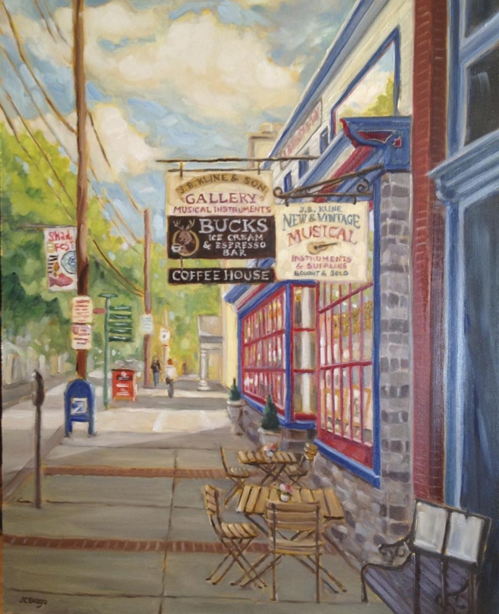 Bridge Street, Lambertville, NJ #3 in Series (large view)