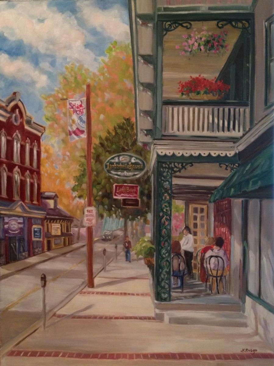 Lambertville House, Lambertville, NJ #4 in Series (large view)