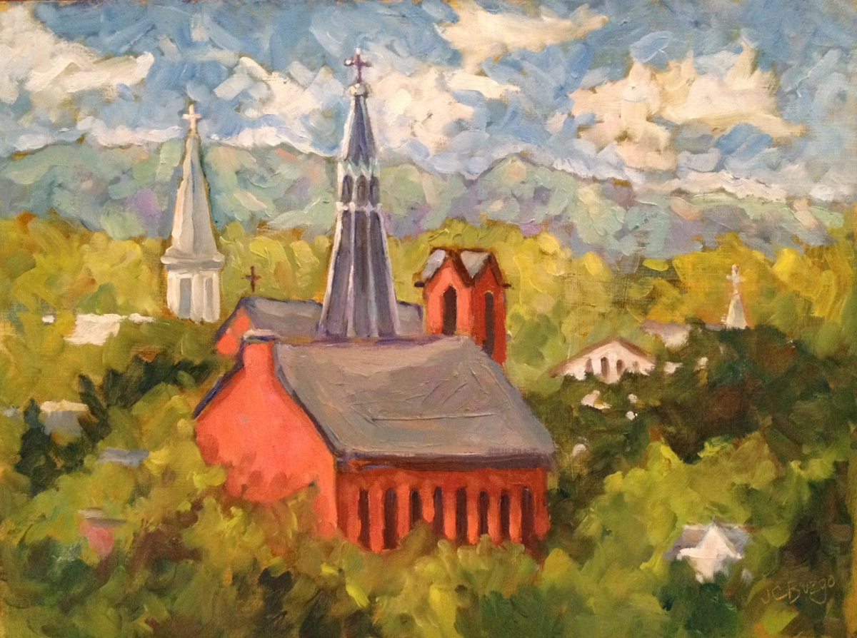 Lambertville Churches (large view)