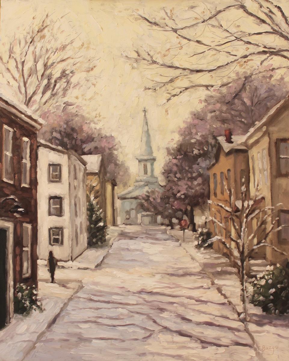 Church Street Snowfall II (large view)