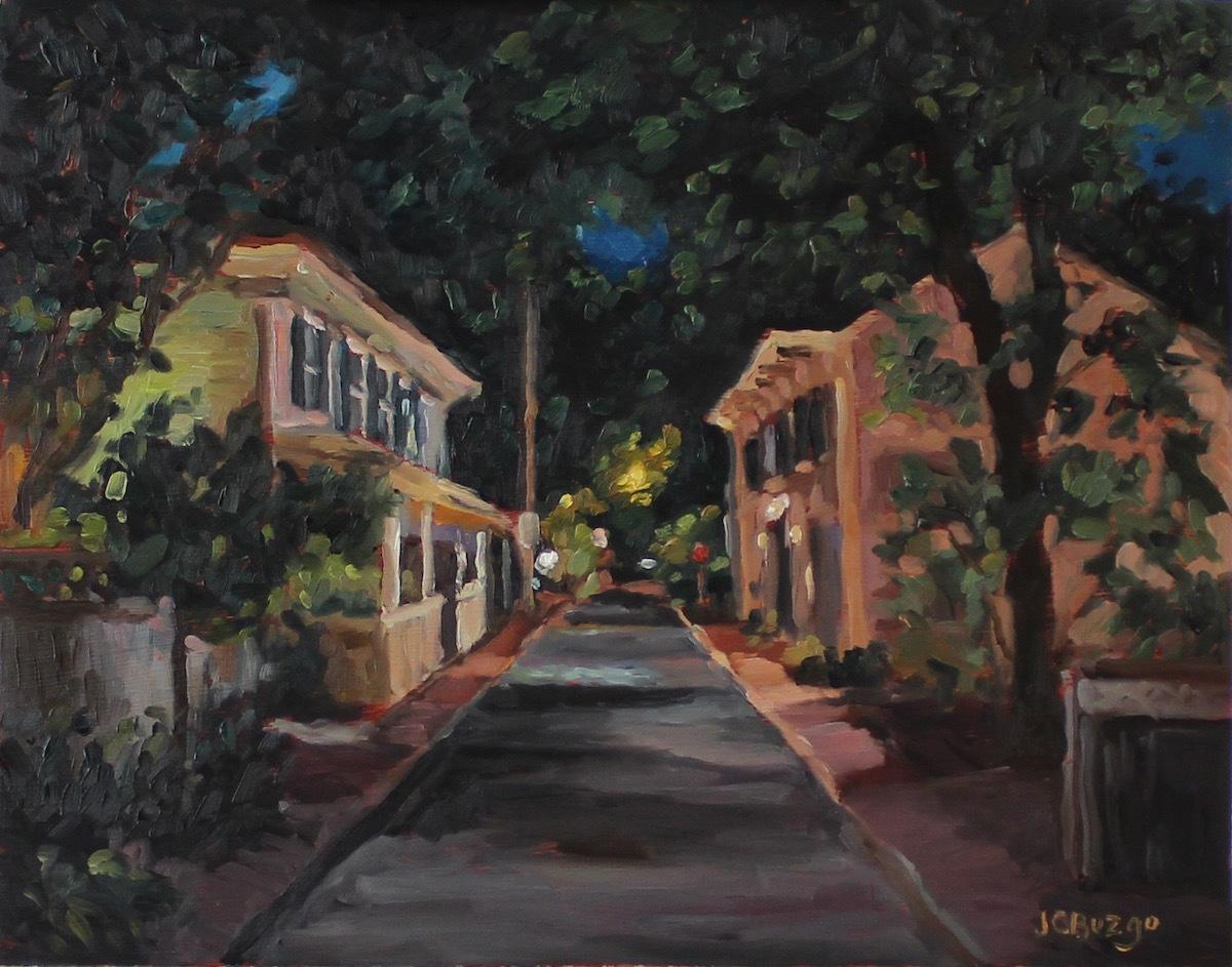 George Street Nightfall III (large view)