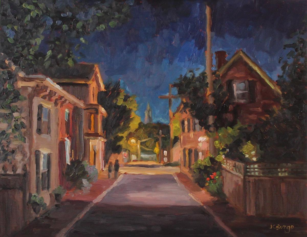 George Street Nightfall II (large view)