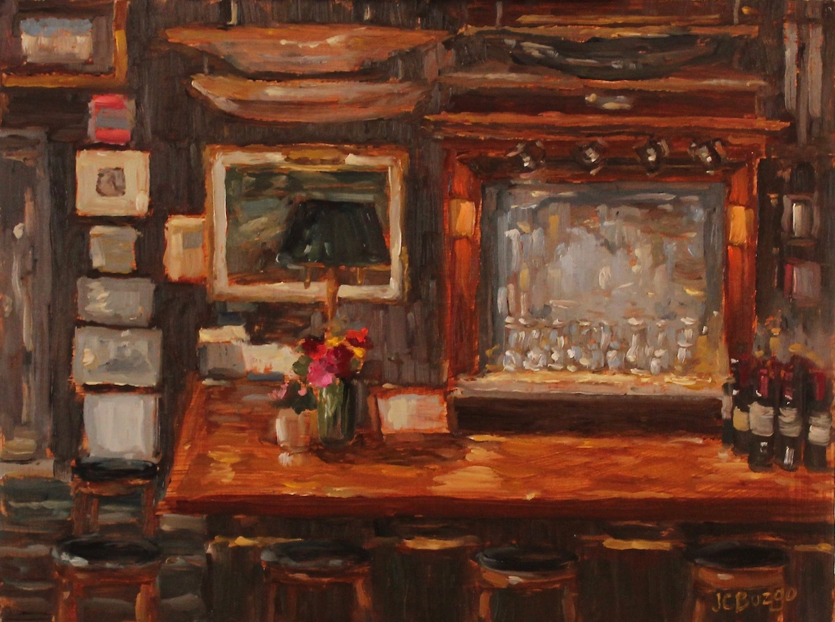 The Boathouse Bar, Lambertville (large view)
