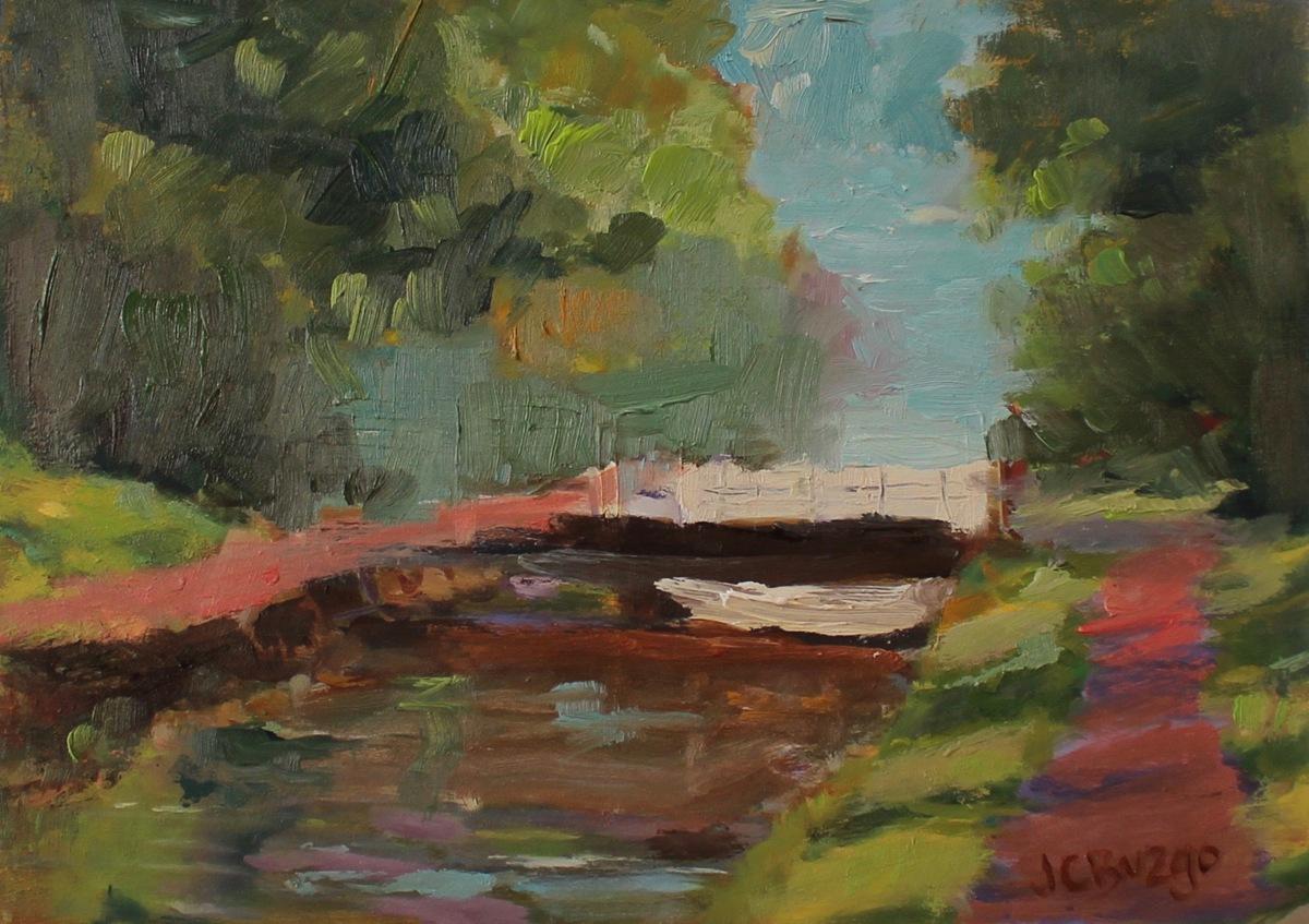 Canal Bridge Study (large view)