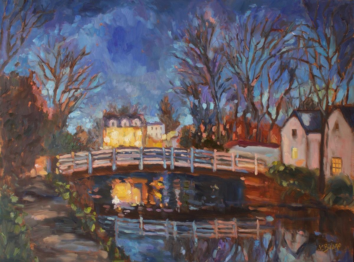 Coryell Night Bridge (large view)
