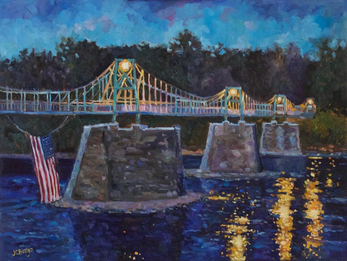 Lumberville Foot Bridge (large view)