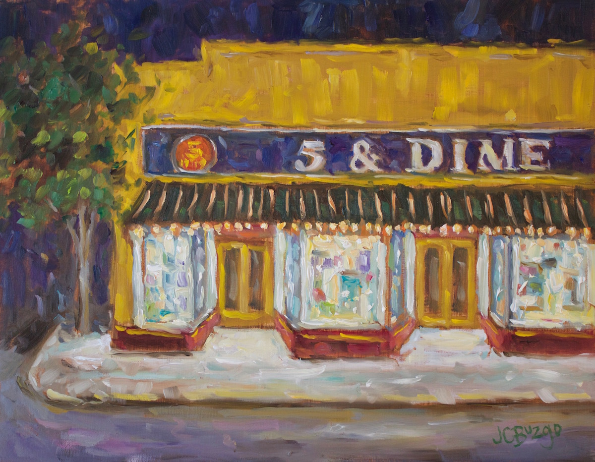 5 & Dime Night (large view)