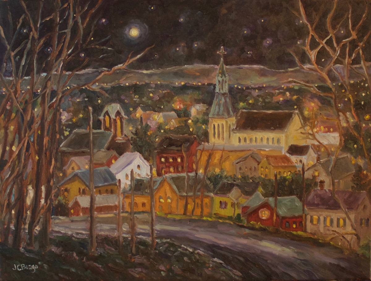 Lambertville Moonlight III (large view)