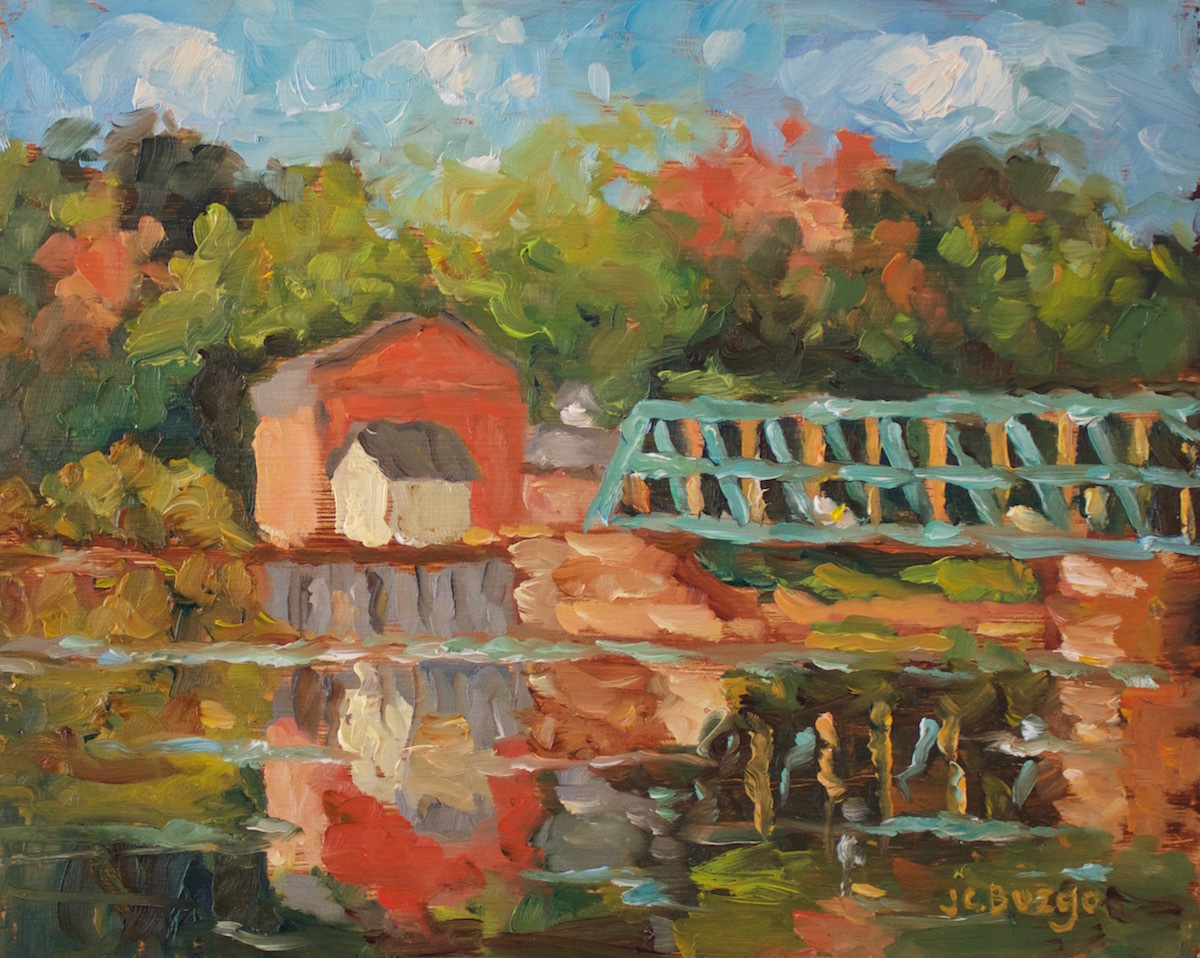 New Hope - Lambertville Bridge V (large view)