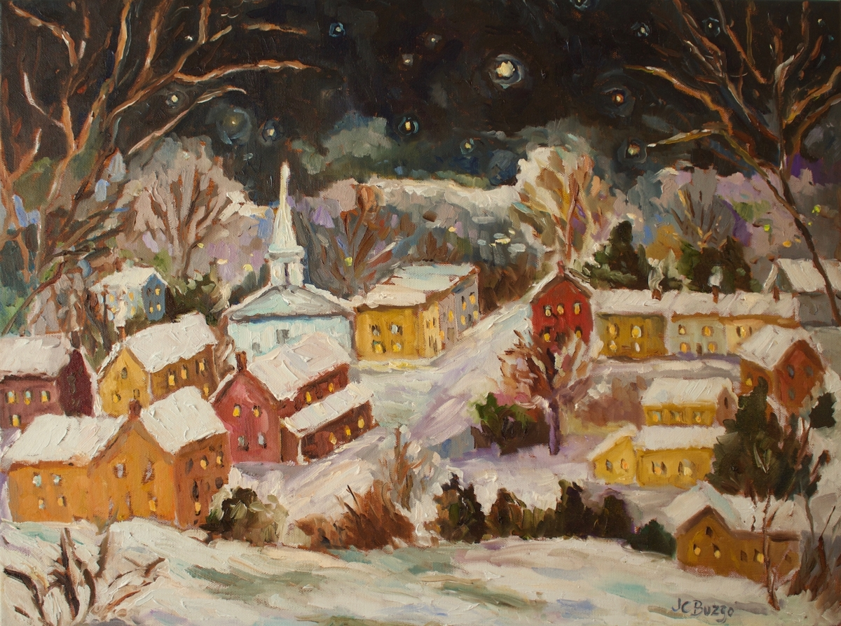 Lambertville Moonlight VI (large view)