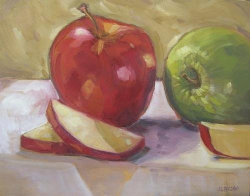 Fresh Cut Apples