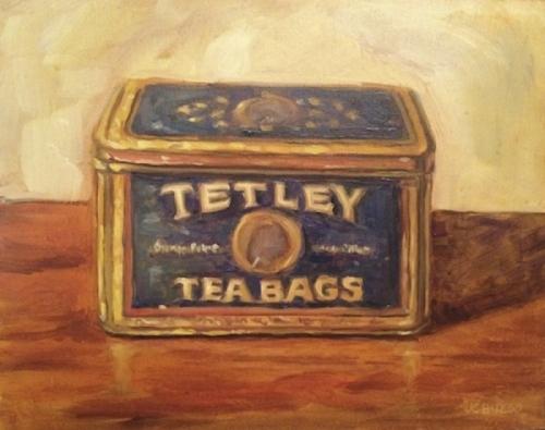Tetley Tea Tin