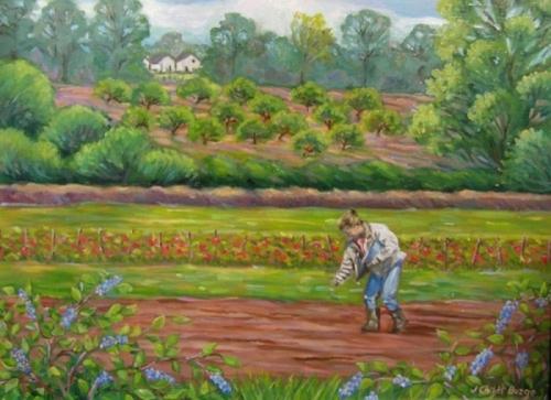 Susan Planting at Snipes