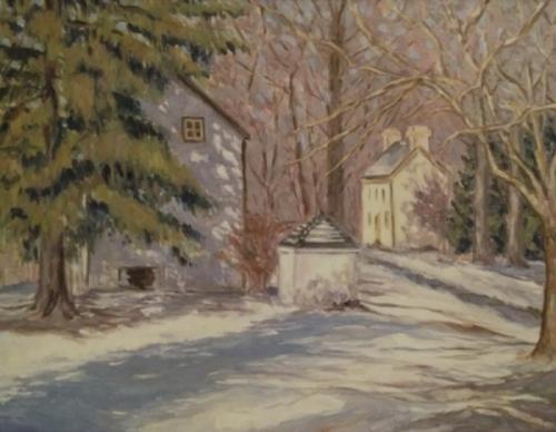 Washington's Crossing Snowfall