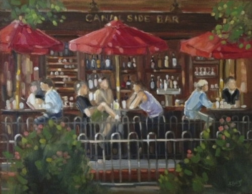 Lambertville Station Canal Side Bar (large view)