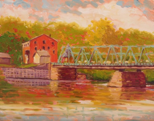 New Hope Lambertville Bridge 1 (large view)