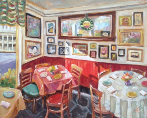 Meil's Restaurant Interior, Stockton, NJ